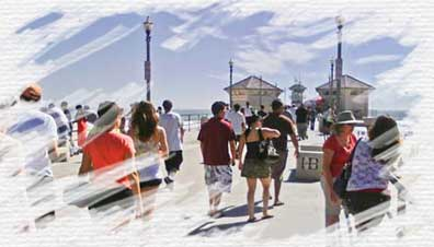 Affordable graphic design in orange county california for Huntington beach pier fishing